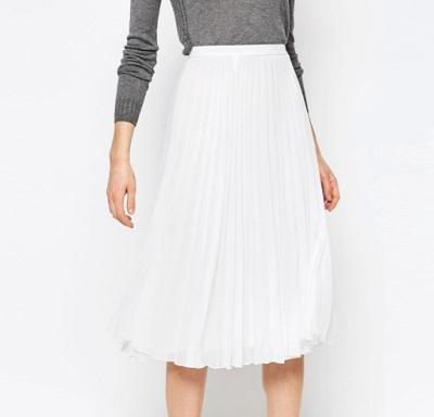 ASOS Pleated Midi Skirt - £30.00