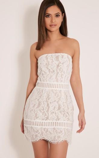 trishia-white-crochet-panel-lace-mini-dress-front